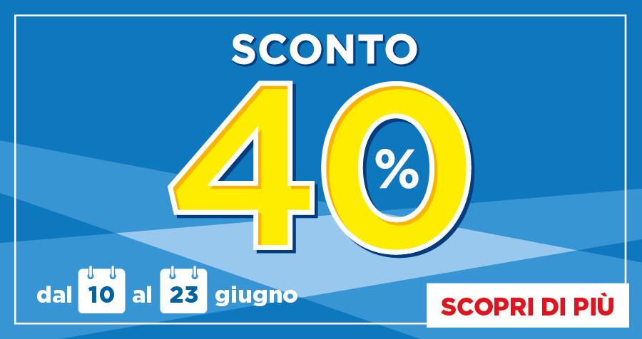 DA BENNET: SCONTO 40%