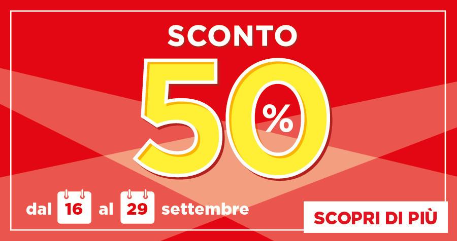 DA BENNET: SCONTO 50%