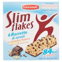 6 Barrette Di Cereali Al Cioccolato Bennet