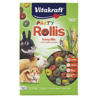 Cibo Per Roditori Party Rollis Funny Mix Vitakraft