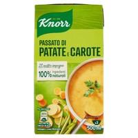 I Passati Patate E Carote Con Delizie Dell'orto Knorr