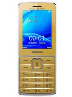 Telefono Cellulare Gold Blade Brondi Oro