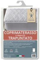 Coprimaterasso Ventotene 1pz 1/2 Cm120x195 Imbottito E Trapuntato
