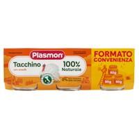 Omogeneizzati Al Tacchino Plasmon 3 Da Gr . 80