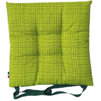 Cuscino Sedia Tessuto Stampato Cm 40 x 40 Verde