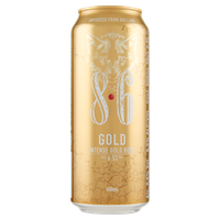 Birra 8 . 6 Gold Lattina