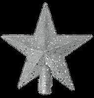 Puntale Stella Cm 20 Argento