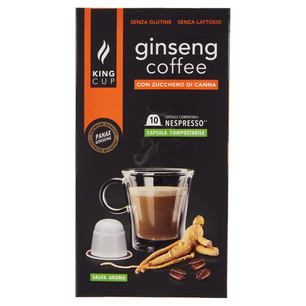 CAPS.GINSENGCOFFE KING