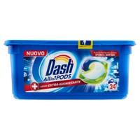 Detersivo Lavatrice Allin1 Pods Extra-Igienizzante Dash, 24 Lavaggi