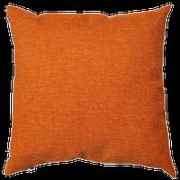 Cuscino Arredo Con Zip Cm 55 x 55 Arancio