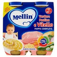 Pappa Completa Al Vitello Mellin 2 Da Gr . 250