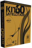 Parabola Satellitare Con Lnb Universale Digiquest