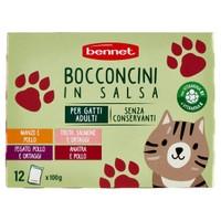 Alimento Umido Per Gatti In Salsa Mon Desir Conf . Da 12 Buste