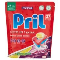 Tabs Per Lavastoviglie Tutto In1 Extra Limone Pril