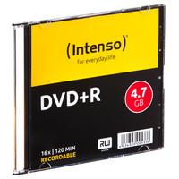 Confezione Singola Dvd+r 4,7gb Speed 16x Intenso