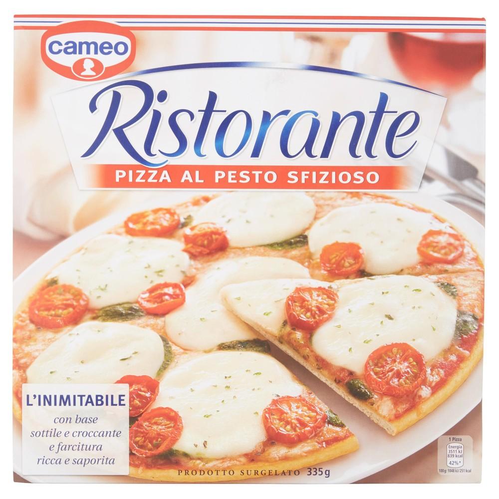 PIZZA RISTORANTE PESTO