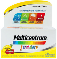 Multivitaminico Junior Multicentrum Compresse Masticabili