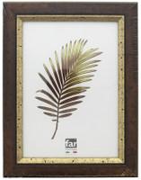 Cornice Crilex Colbert Noce Filo Oro Far Cm.50x70