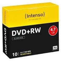 Confezione 10pz Dvd+r 4,7gb 16x Intenso