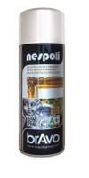 Spray Acrilico Brillante Argento Cromato Effetto Metallo Nespoli Ml . 40
