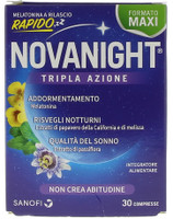 Novanight Compresse Rilascio Rapido