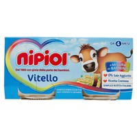 Omogeneizzato Al Vitello Nipiol 2 Da Gr . 80