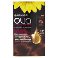 Colorazione Permanente Olia Garnier 5 . 35 Castano Cioccolato