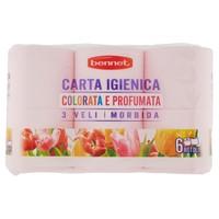 Carta Igienica Colorata Rosa E Profumata Bennet
