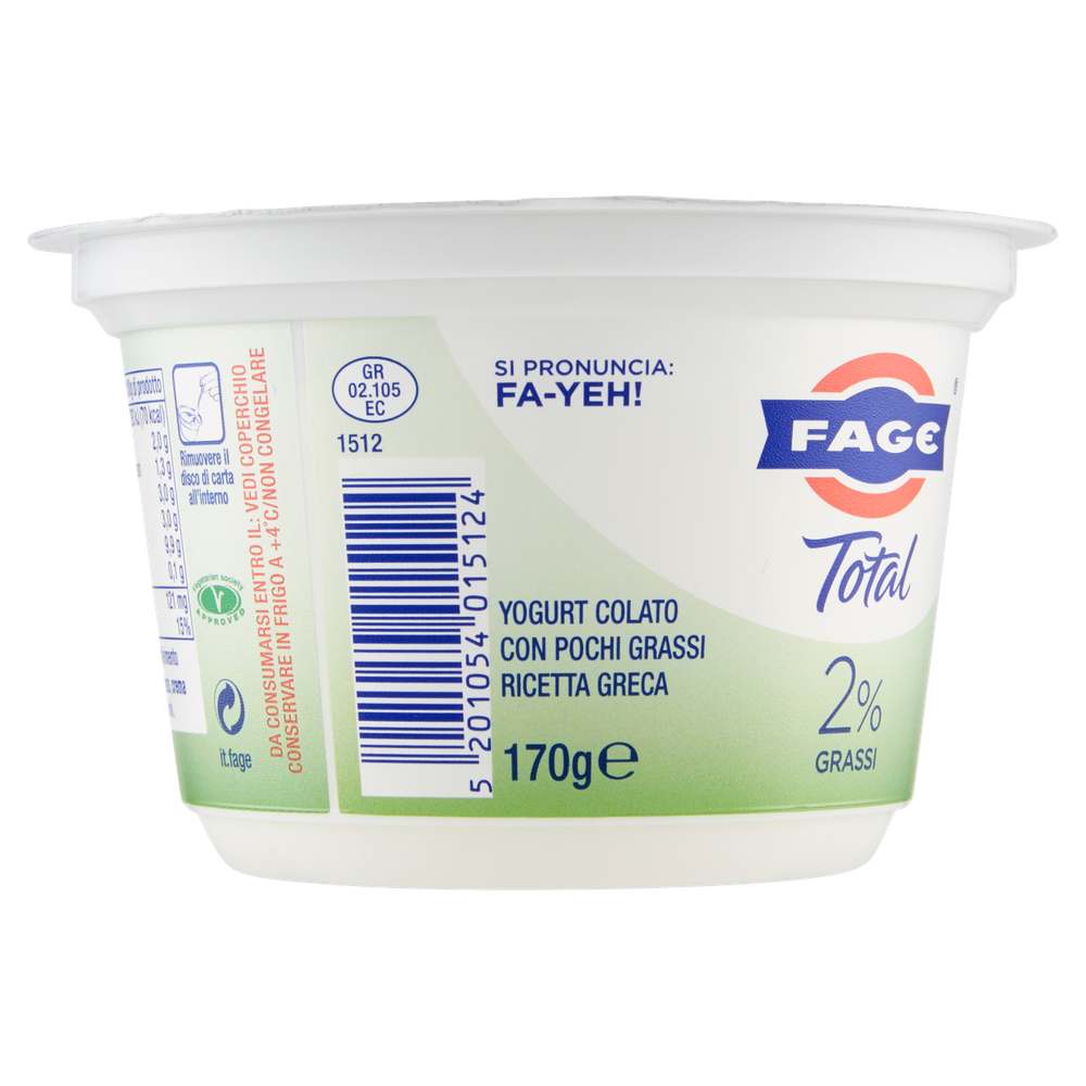 TOTAL 2% FAGE