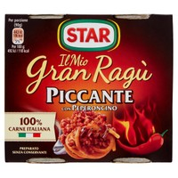 Gran Ragù Star Piccante 2 Da Gr . 180