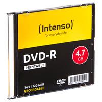 Confezione Singola Dvd-R 4,7gb Speed 16x Intenso