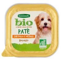 Pate Per Cani Con Pollo E Ortaggi Bennet Bio