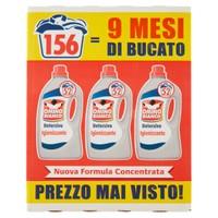 Detersivo Liquido Per Lavatrice Igienizzante Omino Bianco , 3 Da L . 2 , 6