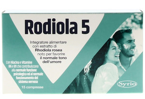 P-RODIOLA-5 15CPR