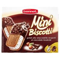 6 Mini Biscotti Ricoperti Bennet