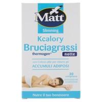 Brugiagrassi Thermogen Notte Matt & diet 30 Compresse