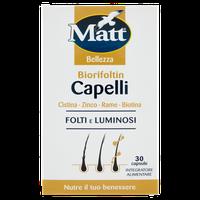 Biorifoltin Capelli Matt 30 Capsule