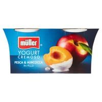 Yogurt Pesca E Albicocca Muller 2 Da Gr . 125