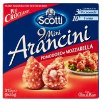Mini Arancini Di Riso Pomodoro E Mozzarella