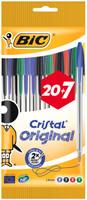 20+7 Penne A Sfera Bic Cristal