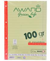 Ricambi A 4 Award Green Life Carta Fsc