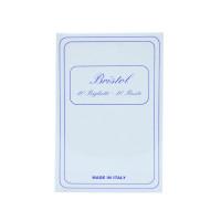 Confezione Da 10 Buste + 10 Biglietti Bristol Bianco , F . to 9 x 14 Cm .