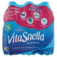 Acqua Naturale Vitasnella 6 Da L . 0 , 5