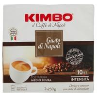 Caffe ' Kimbo Gusto Di Napoli 2 Da Gr . 250