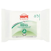 Salviette Repellenti Zanzare Vape Derm Herbal
