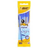 4 Penne Cristal Soft Blu