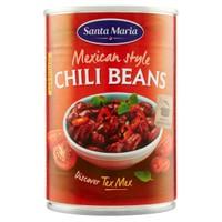 Tex Mex Mexican Chilli Beans S . maria