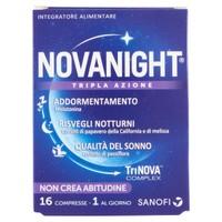 Novanight Tripla Azione Sanofi 16 Compresse