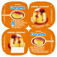 Creme Caramel Danette 4 Da Gr . 125