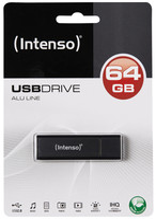 Memoria Usb 64 gb Alu Line Intenso